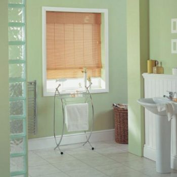 Wooden Blinds for Bathroom in Gateshead