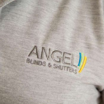 About Us - Angel Blinds logo
