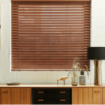 Faux Wood blinds in Gateshead