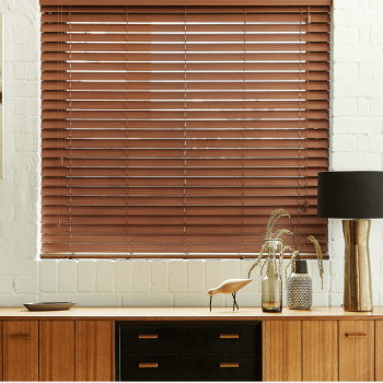 Faux Wood blinds in Gateshead